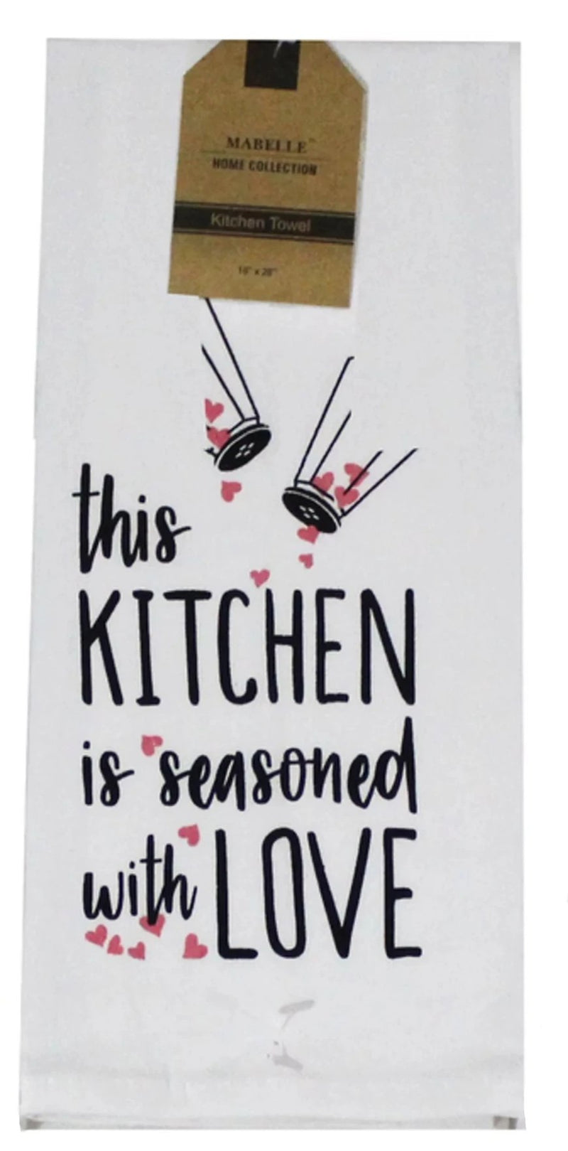 This Kitchen Is Seasoned With Love Dish Towel Dish Towel