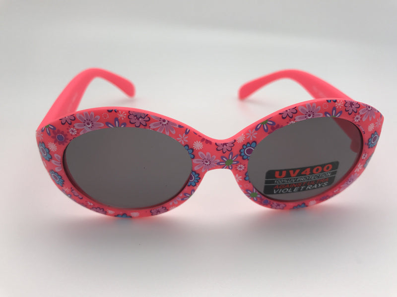 Toddler Sunglasses Big Round Frame kids sunglasses Pink