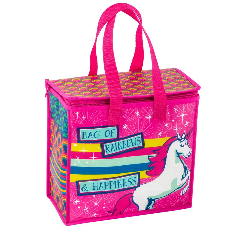 Wit! Cooler/Lunch Bag Bag Of Rainbows & Happiness Cooler Bag