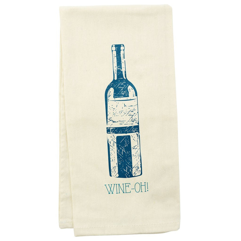 Wit! Tea Towel Wine-Oh! Dish Towel