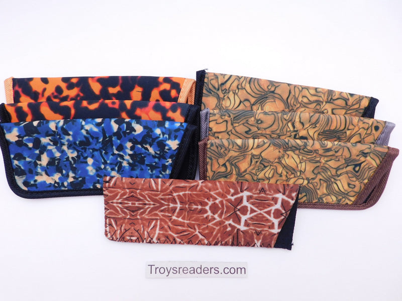 Woodstain Glasses Sleeve in Seven Colors Cases