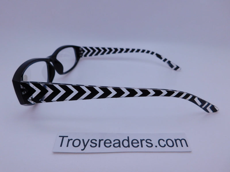 Zig Zag Readers With Case in Five Colors Reader with Display