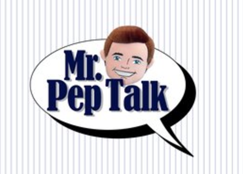 Mr Pep Talk is now on YouTube