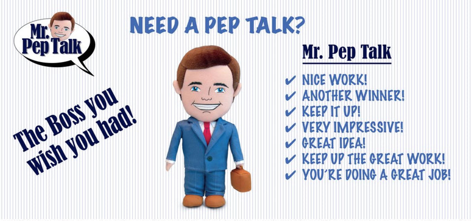 Mr. Pep Talk