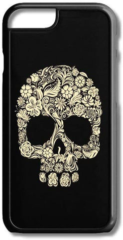 Sugar Skulls Floral Photo iPhone Case Cover for iPhone Case Cover 5/5S/SE/6/6S 6/6S 7 8 Plus X XS TPU