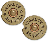 BrownInnovativeMedia 12 Gauge Shotgun Shell Bullet Sandstone Car Cup Holder Matching Coaster Set