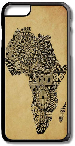 Africa Art Map Tribal Photo iPhone Case Cover for iPhone Case Cover 5/5S/SE/6/6S 6/6S 7 8 Plus X XS TPU