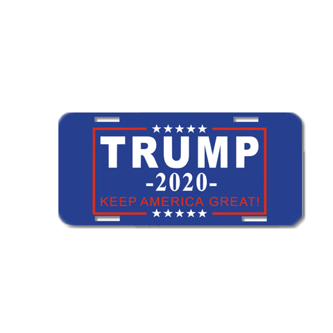 Trump 2020 President License Plate Car Tag or frame Election
