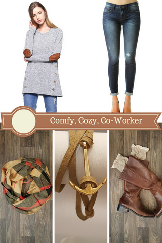 comfy cozy co-worker holiday gift guide