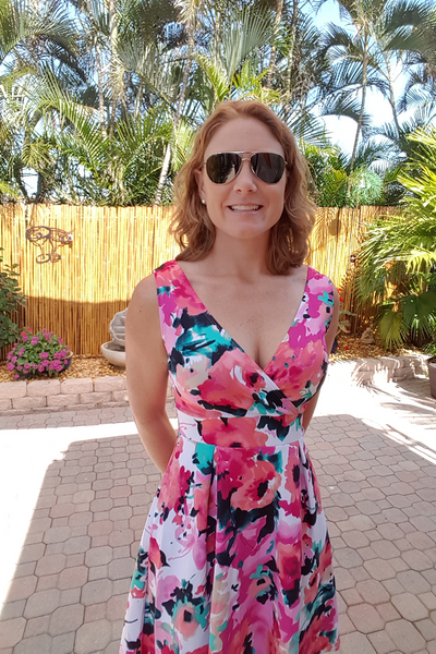 Floral and Flirty Sleeveless Dress - Shoppin with Sailin