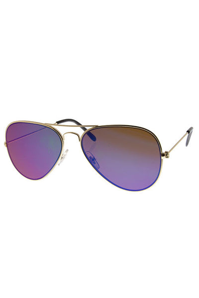 Timeless Mirrored Aviator Sunglasses - Shoppin with Sailin