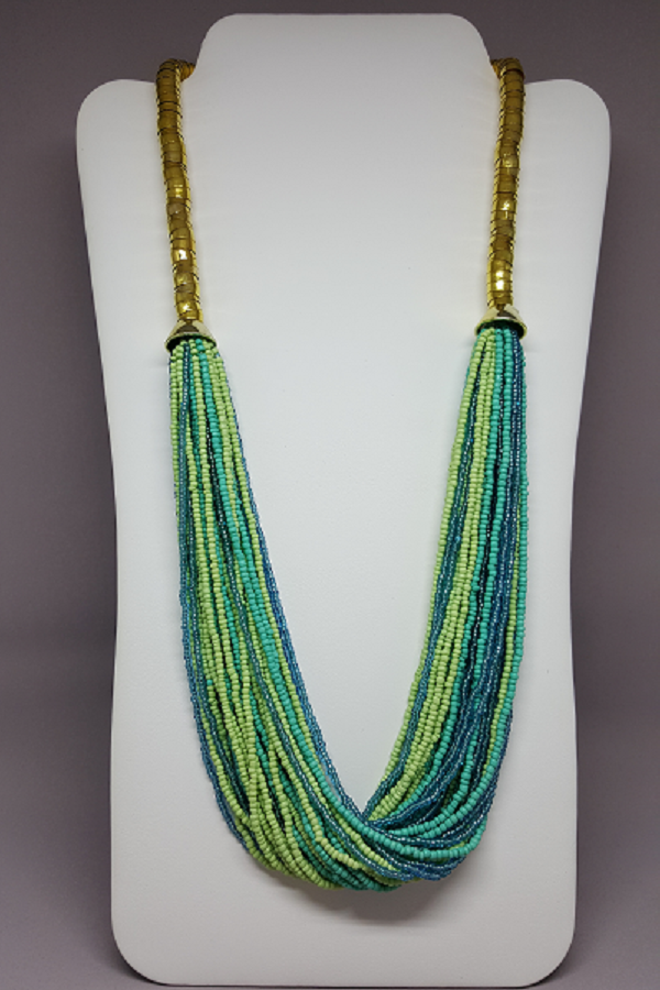 Twisted Seed Beads Necklace