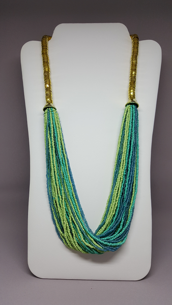 Twisted Seed Beads Necklace - Shoppin with Sailin