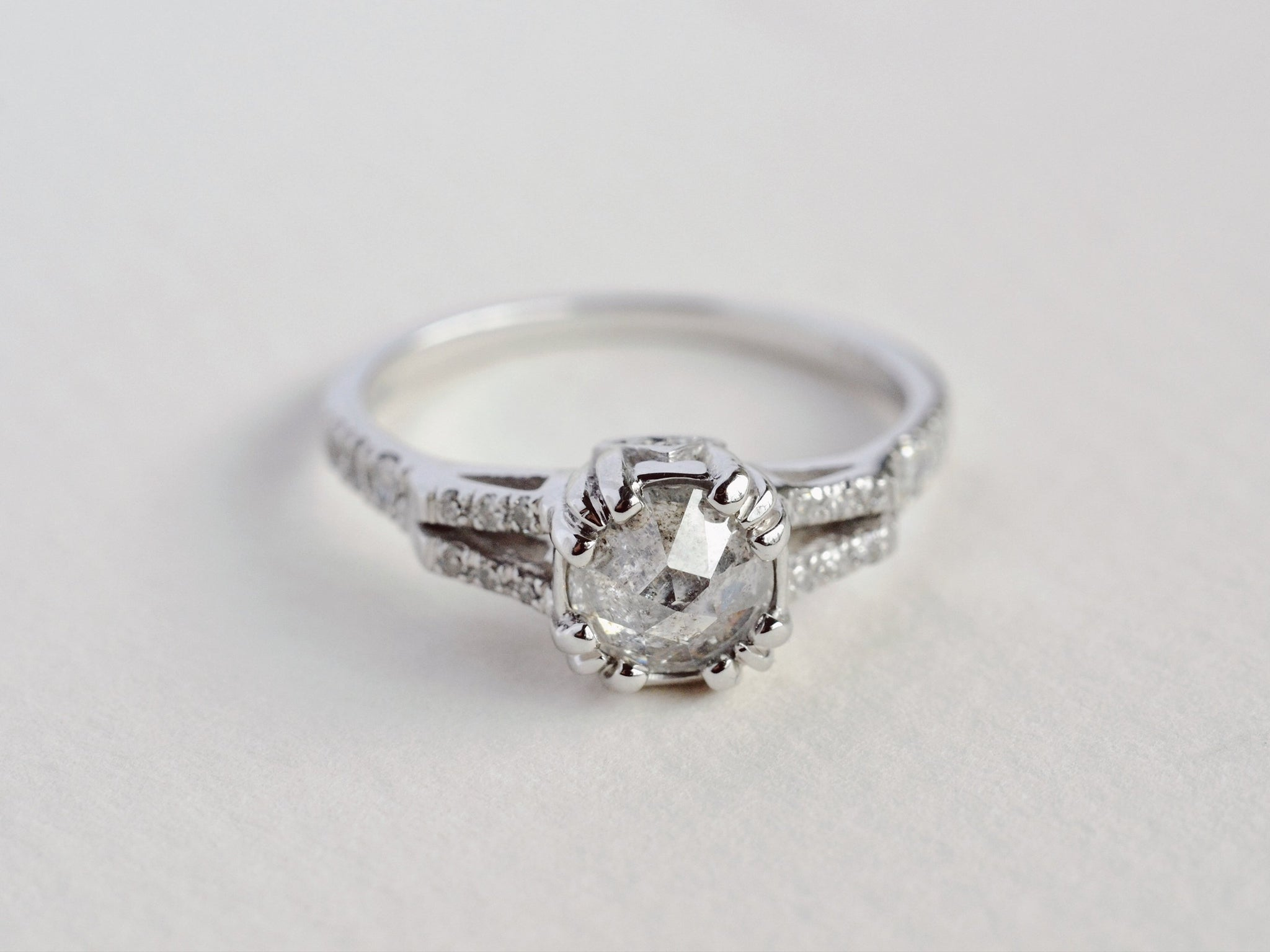 Beloved Solitaire Ring - In Stock Now
