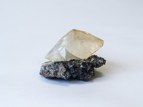 Calcite and Sphalerite crystal