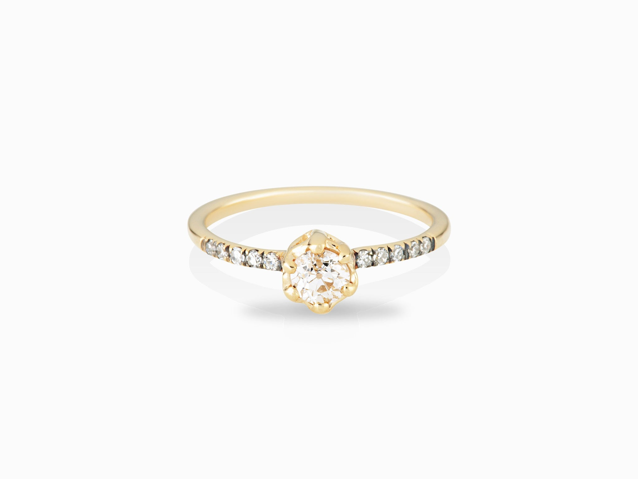Entity Solitaire Ring - In Stock Now