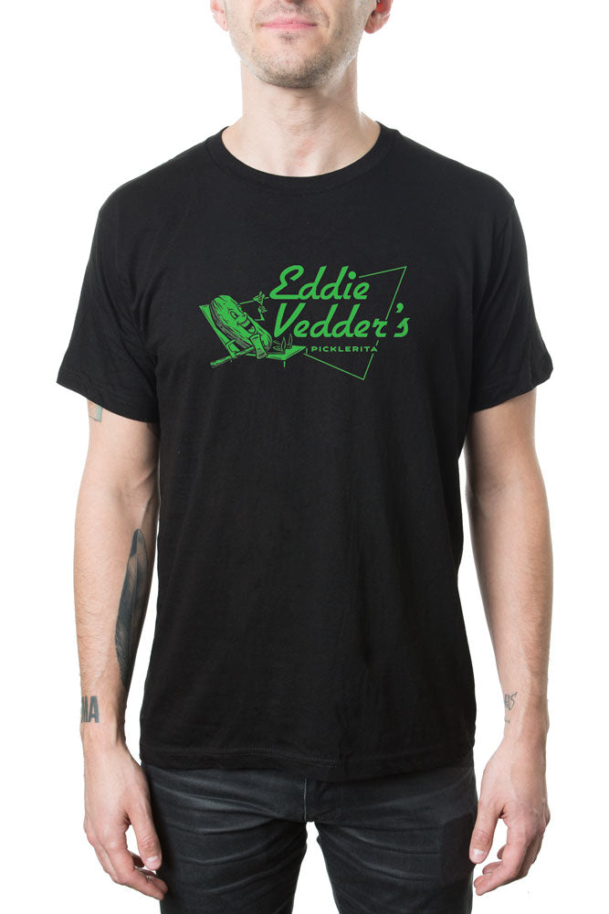 Eddie Vedder Picklerita Tee Black