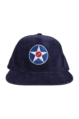 Eddie Vedder Star Corduroy Hat Navy