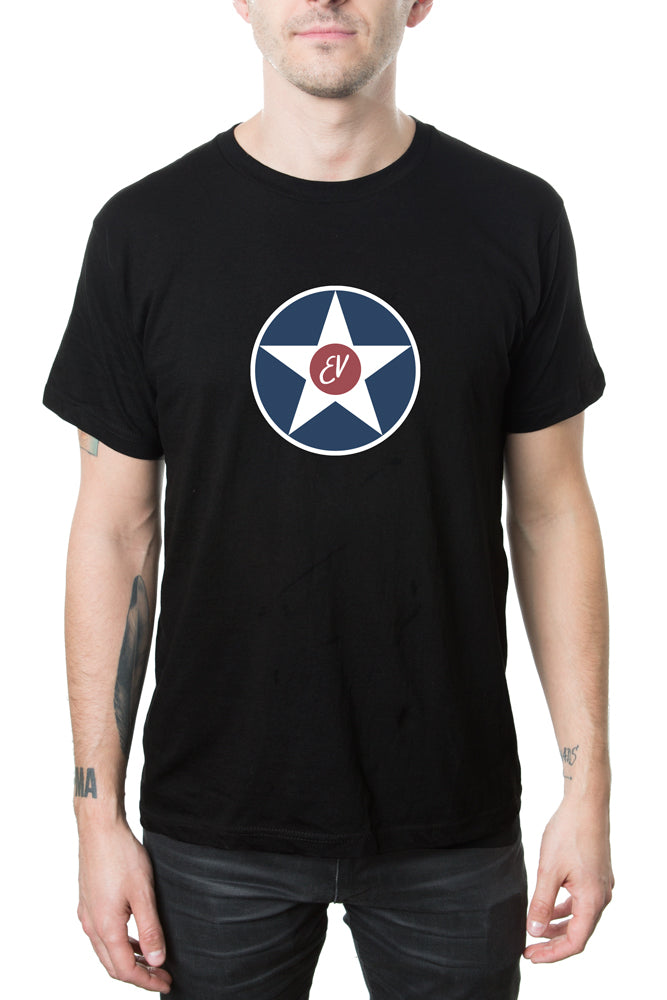 Eddie Vedder Star Logo Tee Black