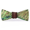 Paua Abalone Bow Tie, Brown Knot, Stedbee