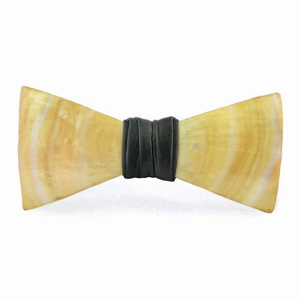 Golden Mother of Pearl Bow Tie, Stedbee