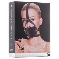 Ouch! Leather Mouth Gag