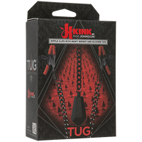 Tug - Nipple Clips With Heavy Weight And Silicone Tips