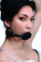 Devour Locking Feeding Gag (Black)