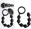 "Choke - 9.5"" Silicone Butt Beads (Black)"