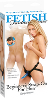 Beginners Strap-On For Him (Black)
