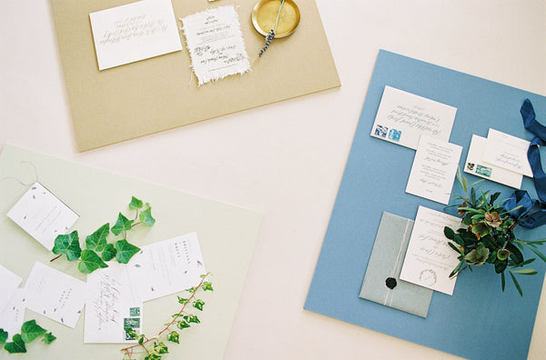 6-Color Wedding <br/> Styling Board Set <br/>