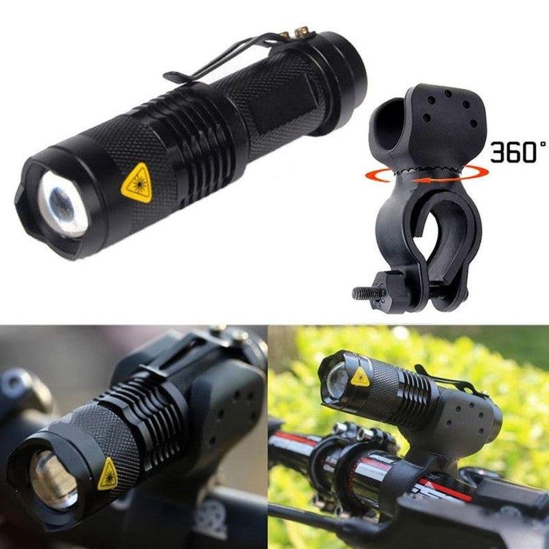 2000 Watts Lumens Bike  LED Front Light