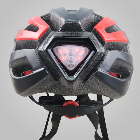 Bicycle Helmet With Back Light