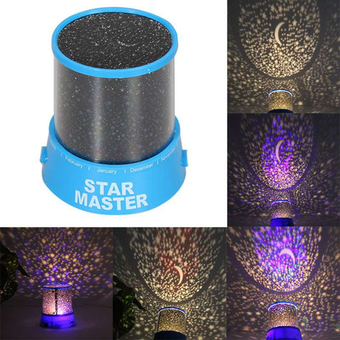 Colorful Star Sky Romantic Cosmos Star LED Projector