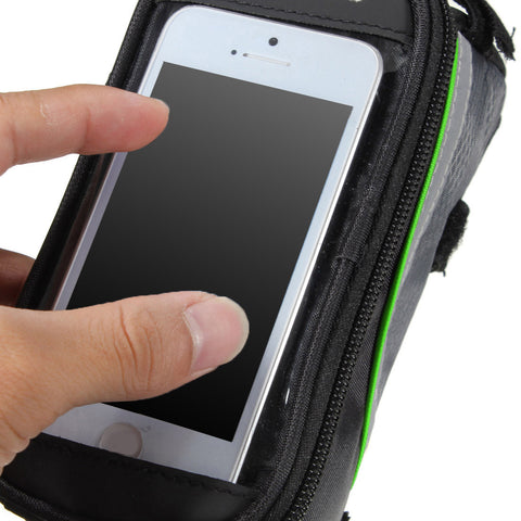 BICYCLE FRAME IPHONE HOLDER