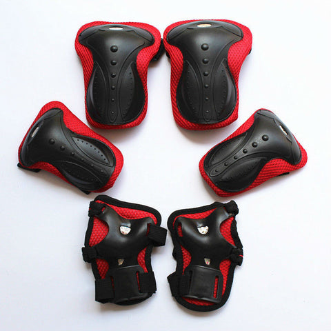 Bicycle Knee Pads With Elbow And Wrist Guard