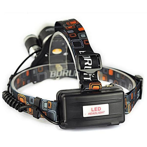Supreme ULTRA Bright LED Rechargeable Headlamp