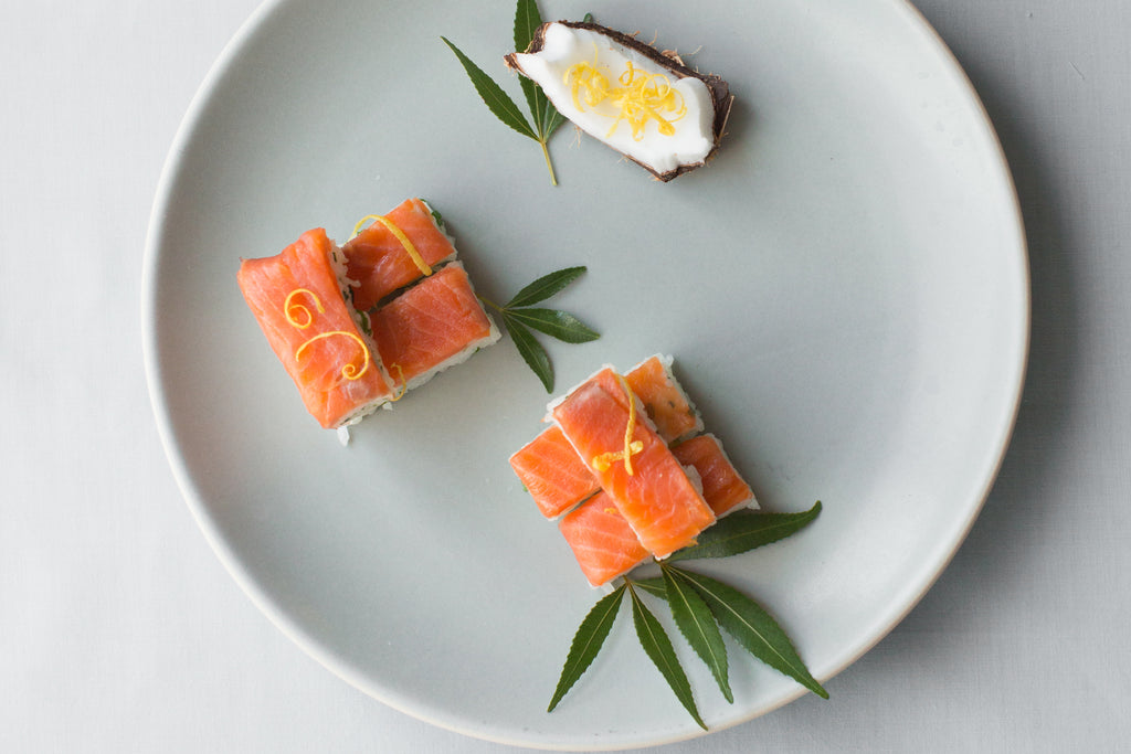 Recipe : Smoked Salmon Batterazushi