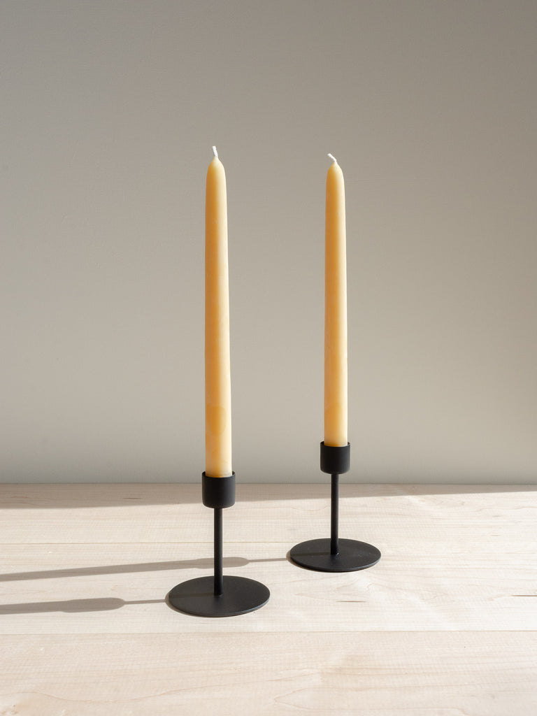 Black Taper Candle Holder