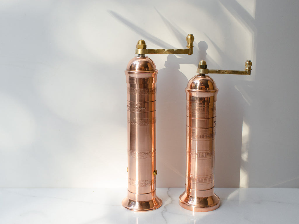 Copper Pepper & Salt Mills