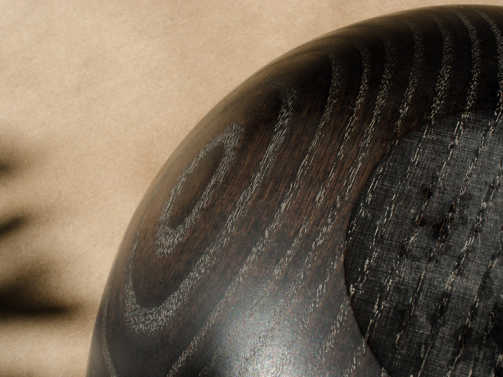 Ebonized Wooden Bowls