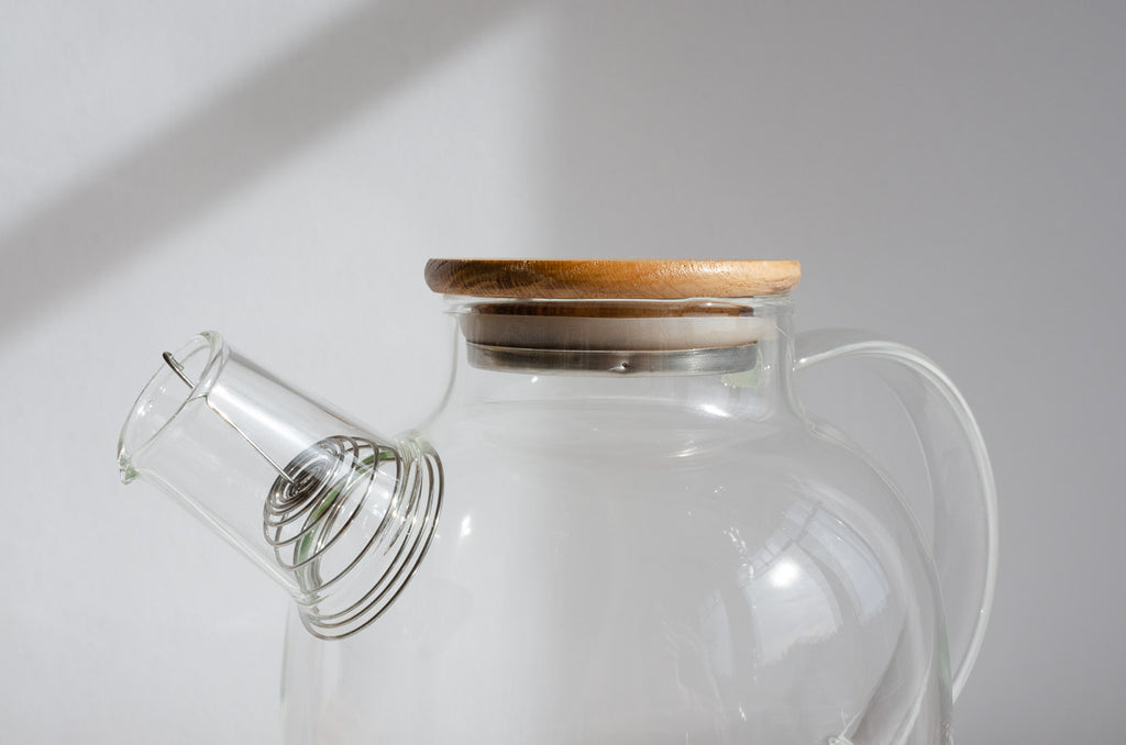 Glass Teapot & Kettle
