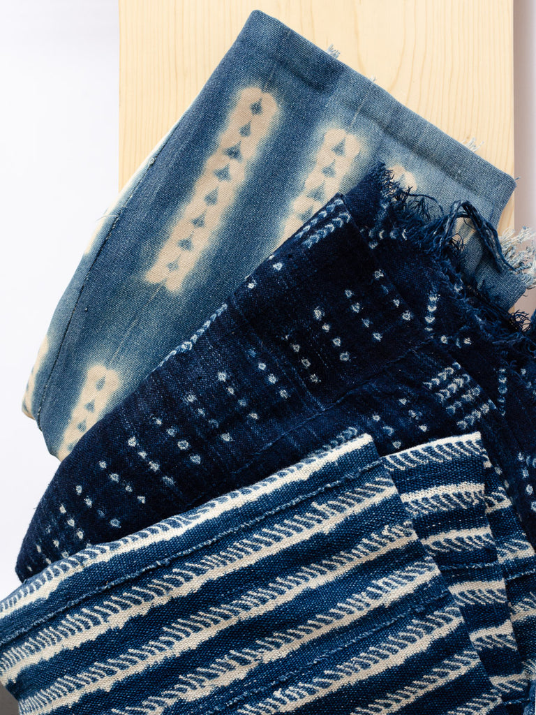 Vintage Indigo Cloth