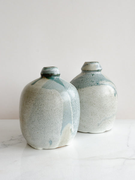 Ceramic Bottle | Aquamarine