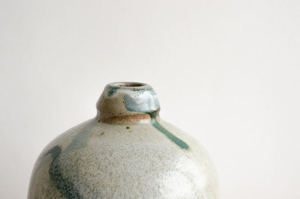 Ceramic Decanter | Aquamarine