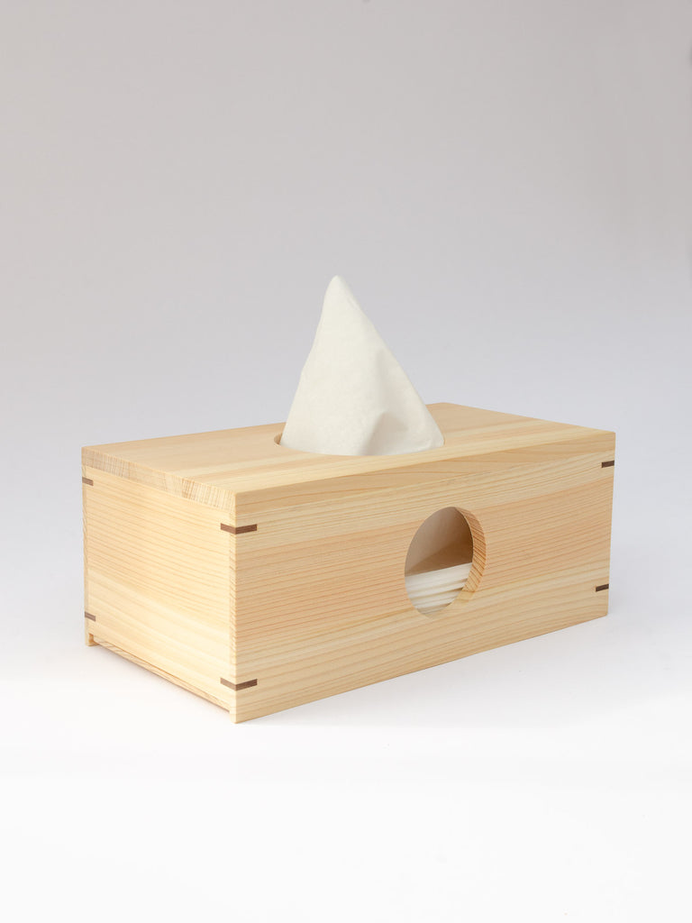 Hinoki Moon Tissue Box
