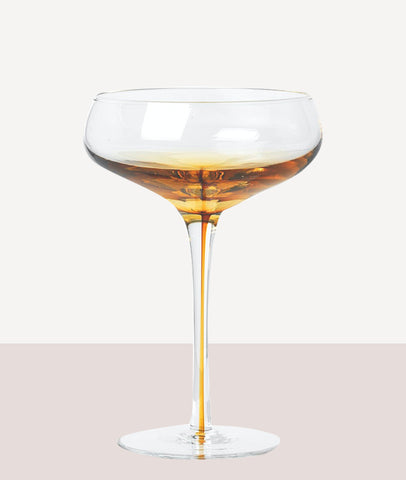 Amber Cocktail Glass / Set4