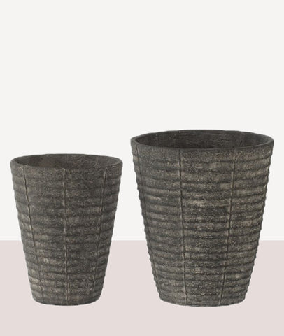 Angkor Textured Planters