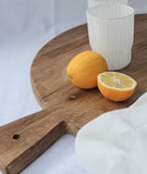 Artisan Round Bread Board w/Handle