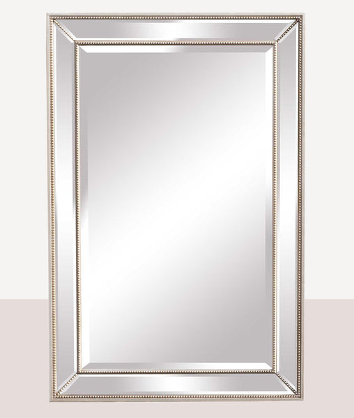 Beaded Mirror / Wide